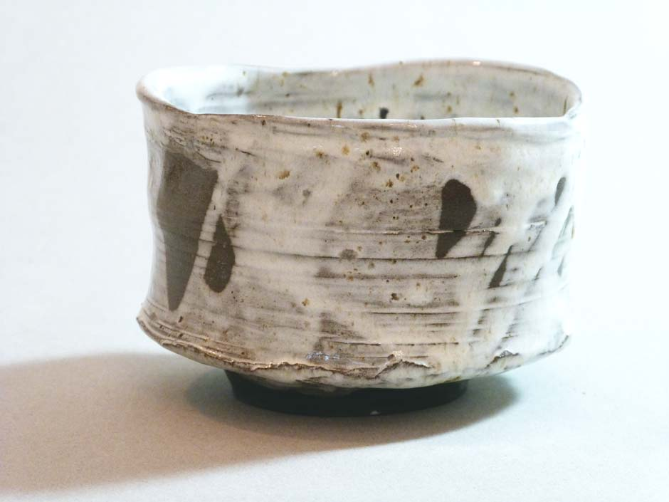 snow-white chawan